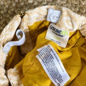 OshKosh B'gosh Bottoms - Genuine Kids Oshkosh | 18M Yellow & White Skirt